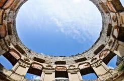 Krzyztopor - imponująco grodowe ruiny, Polska Fotografia Stock