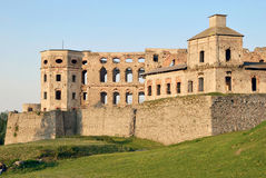 Krzyztopor Schloss, Polen lizenzfreie stockbilder