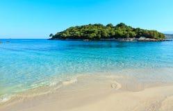 Ksamil beach, Albania. Stock Image