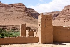 Ksar Royalty Free Stock Photo