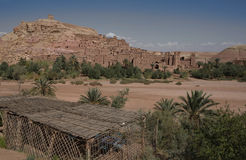 Ksar Ait Ben Haddou 7. Aït Benhaddou is a 'fortified city', or ksar, along the former caravan route between the Sahara and Marrakech. It is situated in Souss Stock Photos