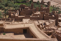 Ksar Ait Ben Haddou 8. Aït Benhaddou is a 'fortified city', or ksar, along the former caravan route between the Sahara and Marrakech. It is situated in Souss Stock Image