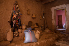 Ksar Ait Ben Haddou indoors Royalty Free Stock Photography