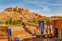Ksar Ait Ben Haddou, Maroc Photos stock