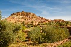 Ksar Ait Ben Haddou, Maroc Image libre de droits