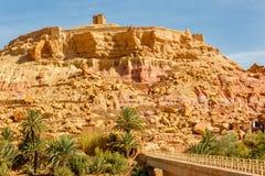 Ksar Ait Ben Haddou, Marocko Royaltyfri Bild