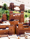 Ksar Ait Ben Haddou in Marokko Stockfoto