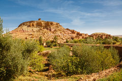 Ksar Ait Ben Haddou, Marrocos Imagem de Stock Royalty Free