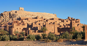 Ksar of Ait-Ben-Haddou, Morocco. Stock Photo