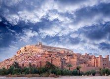 Ksar Ait Benhaddou, Maroc Image libre de droits