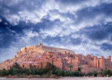 Ksar Ait Benhaddou, Marocko Royaltyfri Bild