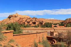 Ksar of Ait Benhaddou, Morocco Royalty Free Stock Photo