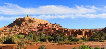 Ksar of Ait Benhaddou, Morocco Royalty Free Stock Photography