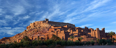 Ksar Ait Benhaddou nahe Ouarzazate in Marokko Stockfotos