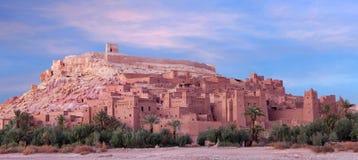Ksar Ait Benhaddou perto de Ouarzazate em Marrocos Fotos de Stock Royalty Free