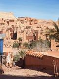 Ksar av Ait-Ben-Haddou, Marocko Royaltyfri Bild