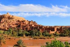 Ksar av Ait Benhaddou, Marocko Royaltyfri Bild