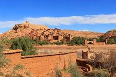 Ksar av Ait Benhaddou, Marocko Royaltyfri Foto
