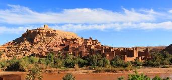 Ksar av Ait Benhaddou, Marocko Royaltyfri Fotografi