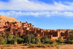 Ksar av Ait Benhaddou, Marocko Arkivbilder