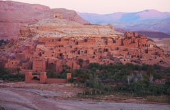 Ksar de AIT-Ben-Haddou, Marrocos Foto de Stock