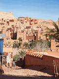 Ksar de AIT-Ben-Haddou, Marrocos Imagem de Stock Royalty Free
