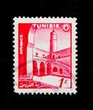 Ksar el Ribat,旅游业serie,大约1956年 图库摄影