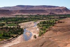 Ksar historique Ait Benhaddou au Maroc Photographie stock libre de droits