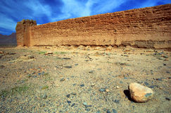 Ksar in Middle Atlas Mountains Royalty Free Stock Photos