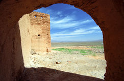 Ksar in Middle Atlas Mountains Royalty Free Stock Photo