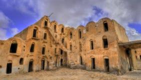 Ksar Ouled Soltane nahe Tataouine, Tunesien Lizenzfreies Stockfoto