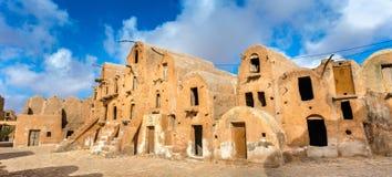 Ksar Ouled Soltane nahe Tataouine, Tunesien Lizenzfreies Stockbild