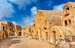 Ksar Ouled Soltane nahe Tataouine, Tunesien Lizenzfreie Stockfotos