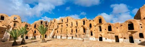 Ksar Ouled Soltane nahe Tataouine, Tunesien Stockbild
