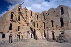Ksar Ouled Soltane, Tunísia Imagens de Stock Royalty Free
