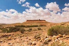 Ksar Tafnidilt cerca de Wadi Draa, moreno del moreno, Marruecos Fotografía de archivo