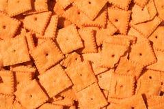Käse-Cracker Lizenzfreies Stockbild