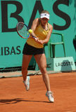 Ksenia PERVAK (RUS) at Roland Garros 2010 Royalty Free Stock Photography