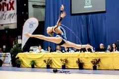 Kseniya Moustafaeva  hoop Royalty Free Stock Image