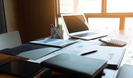 Księgowość konsultant, doradcy gospodarczego konsultanta Pieniężnego planowania Pieniężny planowanie fotografia stock