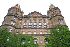 ¼ KsiÄ… Å Schloss Lizenzfreies Stockfoto