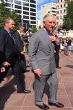 Książę Walii wizyta Auckland Nowa Zelandia Zdjęcia Stock