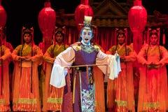 "książe cesarza Jiangxi opera ""Red pearl† Obraz Stock"