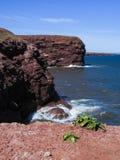 Książe Edward wyspy czerwieni falezy Obraz Royalty Free