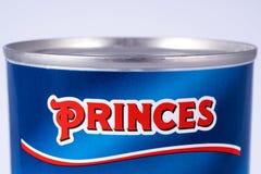 Książe gatunku logo Obrazy Royalty Free