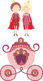 książe kareciany princess Zdjęcie Stock