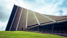 Książe Mahidol Hall Uroczysta sala jako właściwy miejsce wydarzenia dla skalowania ceremon Obrazy Royalty Free