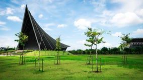 Książe Mahidol Hall Uroczysta sala jako właściwy miejsce wydarzenia dla skalowania ceremon Zdjęcia Stock