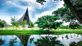 Książe Mahidol Hall Uroczysta sala jako właściwy miejsce wydarzenia dla skalowania ceremon Zdjęcie Royalty Free
