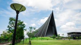 Książe Mahidol Hall Uroczysta sala jako właściwy miejsce wydarzenia dla skalowania ceremon Zdjęcia Royalty Free